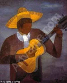 Le guitariste sold by Eric Pillon Enchères, Calais, on Sunday, December 09, 2001