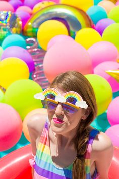 DIY Rainbow Sunglasses