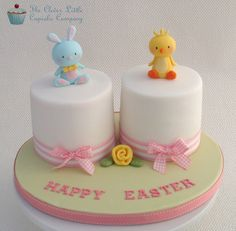 Double Easter Cakes by The Clever Little Cupcake Company (Amanda), via Flickr