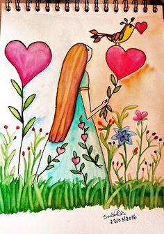 GALERIA DE PINTURAS: Ponha um pouco de amor no seu coração...