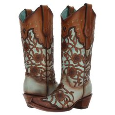 10 Floral Boots to Flip Out Over - COWGIRL Magazine