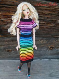 Форум о куклах на DollPlanet.ru • Просмотр темы - AnnaBella: вязание крючком и спицами.