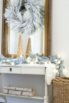 Christmas Decor: Holiday home tour, ahousewithbooks.com