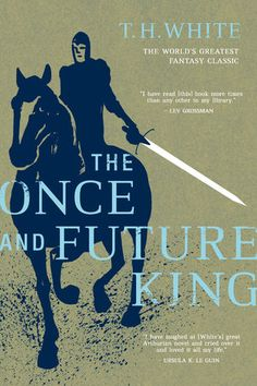 THE ONCE AND FUTURE KING by T.H. WHITE - A glorious book, and *much* more than a retelling, too. Complex, very personal, moving, funny, wise, sad...  A true fav of mine. ~GGK