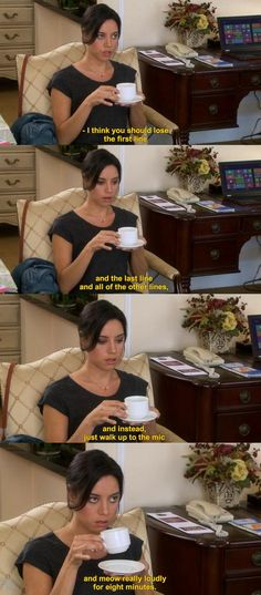 April Ludgate, Parks and Recreation- I love her. She's hilarious!