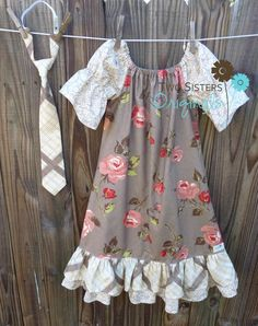 Brother and Sister Matching Outfits  by twosistersoriginals, $48.00
