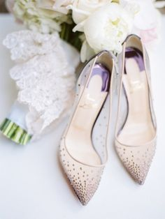 shoes Wedding Inspiration - Style Me Pretty