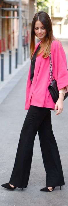 Pink Blazer Street Fashion BuyerSelect.com
