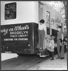 Library on Wheels - Brooklyn Public Library