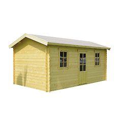 Casetta in legno Artik 524 x 330  cm, spessore 28 mm