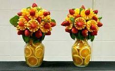 Naranjas y frutillas