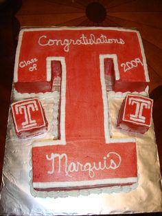 temple+university+graduation+cakes | Temple University 3-D