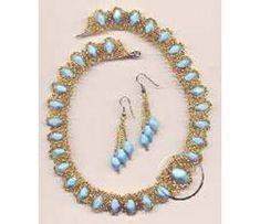 Necklace Blue Danube, Sova Enterprises