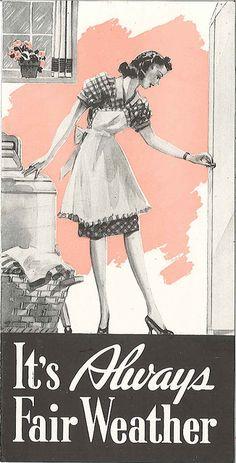 Cabinet clothes dryer advertisement, circa 1930s
