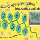 The Number Writing Practice Interactive Wall Display is a learning resource for your students to practice writing numbers. Laminating the display i...