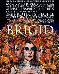 Brigid's Day Campaign — Brighid Goddess, Celtic Goddess, Irish Mythology, Philippine Mythology, St Brigid, Sacred Feminine, Divine Feminine, Mother Goddess, Triple Goddess