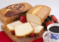 Pound Cake via Daisy Brand® Sour Cream - this recipe takes a cake mix and adds some life to it! Cake Mix Recipes, Pound Cake Recipes, Dessert Recipes, Lean Desserts, Just Desserts, Cupcake Cakes, Cupcakes, Bundt Cakes, Daisy Sour Cream