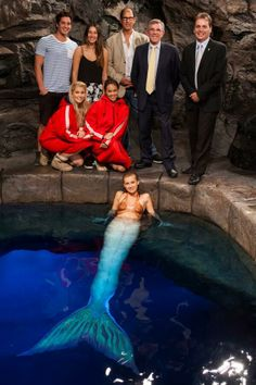 Mako Mermaids - Bts On set at the Moon Pool