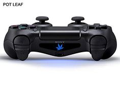 258stickers PS4 Light Bar Decal Stickers  World Best Origin Green Style Playstation 4 Marijuana Leaf Stickers Weed Leaf Sticker ncaa 13495 -- You can get more details by clicking on the image.Note:It is affiliate link to Amazon.
