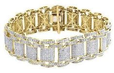 The bedazzling splendor of this regal bracelet is a visual delight.