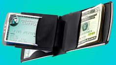 Did you know that thieves can now steal your credit card information from yards away without physically taking anything? This wallet protects you from RFID theft.