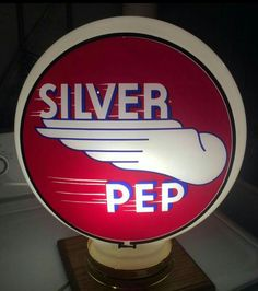 Silver Pep Gas Globe