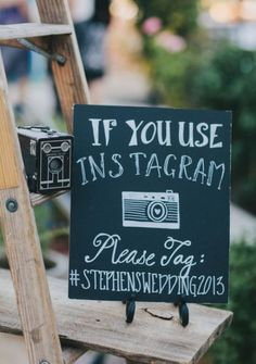Great wedding idea for photos