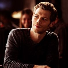He can smile too --Klaus Mikaelson--The Originals/The Vampire Diaries
