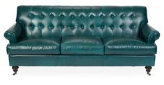 Designed by acclaimed decorator (and One Kings Lane Tastemaker) Nathan Turner, this generously proportioned sofa combines rolled arms, a button-tufted back, and rich upholstery to glorious effect....
