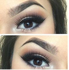 Brows + eye shadow <3