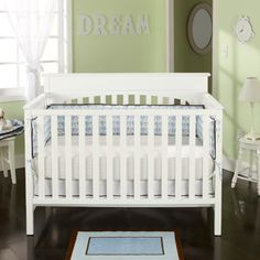 Graco - Lauren 4-in-1 Convertible Classic Crib, White