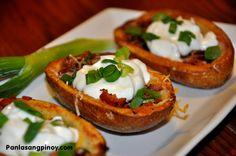 Potatoes on Pinterest | Potato skins, Potatoes and Baked potatoes ...