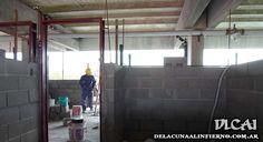 Obras en el Estadio - Palcos