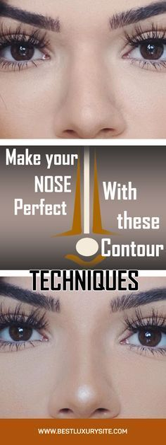 With these tricks, your nose will look completely different