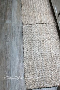 Porcelain tile that looks like wood. Nice for small spaces like bathroom or laundry room.