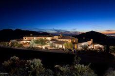 Hilltop house in Arizona, Scottsdale