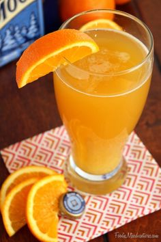Citrus Beer Cocktail - serve cocktails AND beer at your Game Day Party on Sunday | via @Nicole Novembrino White The Marvelous Misadventures of a Foodie