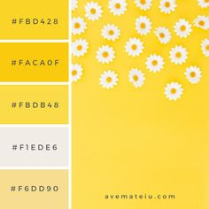 20 Summer Color Palettes and Hex Codes – Ave Mateiu Hex Color Palette, Colour Schemes, Green Palette, Colour Combinations, Hex Codes, Hex Color Codes, Summer Color Palettes, Summer Colors, Yellow Pantone