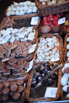 chocolate, there are many wonderful chocolate stores in France.