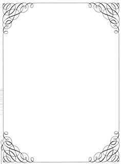 letterhead  corner fall | Simple Borders 18259 Hd Background In Vector N Designs original ...