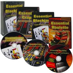 Essential Casino 3-DVD Set - Blackjack, Craps, & Roulette! by tmg. $12.99. Learn how to master 3 of the biggest casino games with this amazing DVD set! We are putting 3 of our best selling DVD's together to teach you how to play the hottest games in Vegas. Not only will you learn the ins and outs of these exciting games, but you will also learn what the dealers know.  If you're interested in becoming a casino dealer, improving your playing skills or just want to know more about ...