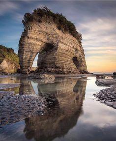 Elephant Rock, New Zealand — Photography by @brentpurcell.nz
