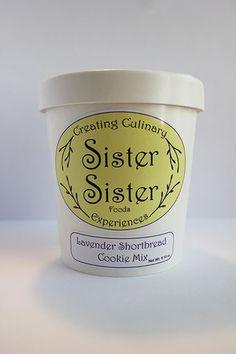 Lavender Shortbread Cookie Mix – Sister Sister Foods
