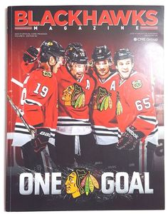 Chicago Blackhawks Magazine 2013-14 Official Game Program Volume 6 Edition 5G