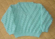 Sim, essa blusa é mágica! Foi assim que eu disse quando vi a receita, nos meus tenros 9 anos de idade. Eu fazia aulinha de tricô com a ...