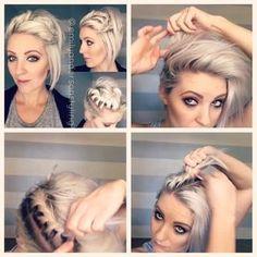 """Gefällt 917 Mal, 44 Kommentare - Arizona Hairstylist (@emilyandersonstyling) auf Instagram: """"#shorthairtutorialmonday Full video on my YouTube channel (link in profile). Just playing around…"""""""