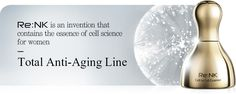 Re:NK is an invention that contains the essence of cell science for womenTotal Anti-Aging Line Korean Beauty Brands, Inventions, Anti Aging, Therapy, Science, Counseling, Science Comics