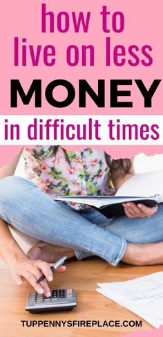 The best help for you when needing to learn how to live on less money. Manage on less income but love it more. Tough times mean less money Money Plan, Money Tips, Money Saving Tips, Saving Ideas, Earn Money, No Spend Challenge, Money Saving Challenge, Debt Snowball Worksheet, Live On Less