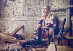 Great cosplay of Tank Girl