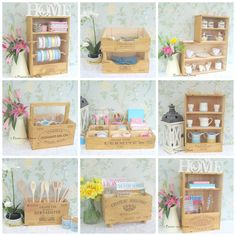 Baxter and Snow - Recycled wooden wine boxes. Beautiful accessories for your home, stylish products for your pets and craft storage solutions. Wooden Wine Crates, Wooden Boxes, Diy Craft Projects, Diy Crafts, Craft Storage Solutions, Magic Crafts, Doll Beds, Home And Deco, Inspiration